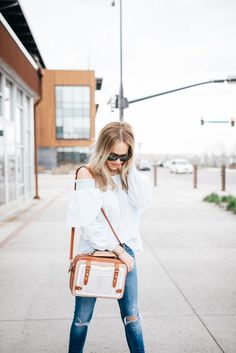 The One Spring Top You Need | off the shoulder top for spring || The Fashion Fuse #offtheshoulder #springtop #springstyle