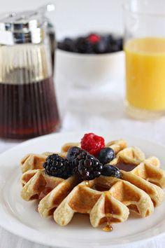 ambrosia: Buttermilk Waffles (Gluten-Free)