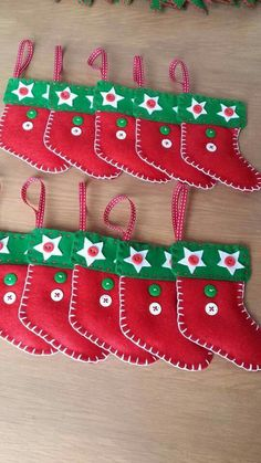 Bien-aimé décoration en tissu pour sapin de Noël | Couture - Coeurs  HB47