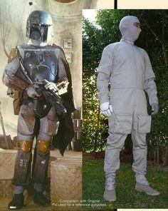 Star Wars Boba Fett Mandalorian Jump Flight Suit by KriptonTop