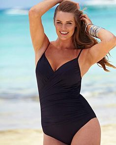 5784df1398 BESPOKE FIT Swimsuit - Standard B-DD Large Size Clothing