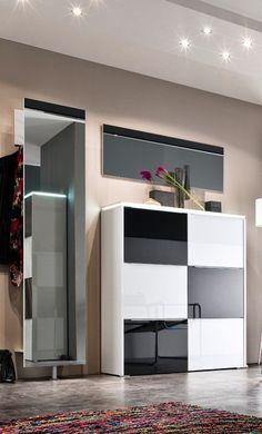 Multi Color Gloss Von Wittenbreder   Garderobe In Schwarz/ Weiß