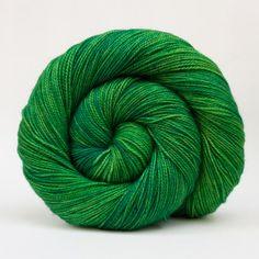 Emerald City in Merino Fingering Twist  by SnailYarn