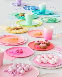 Our brand new party products are here! Amazing colors and patterns perfect for your next party! | Oh Happy Day!