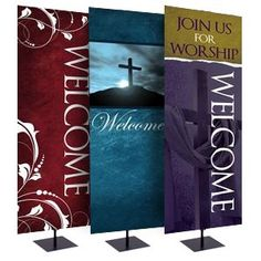 pinterest church welcome stations | 2x6WelcomeBanners-Thumb3-300px.png