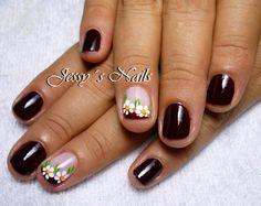 Sangre toro Short Nails, Nail Designs, Make Up, Nail Art, Beauty, Mary, Hairstyles, Nail Hacks, Stickers