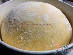 The perfect universal yeast dough for various sheet cakes, Berliners or b . Bread Recipes, Cake Recipes, Dessert Recipes, Cooking Recipes, Hungarian Cake, Hungarian Recipes, Croissant Bread, Czech Recipes, Baking And Pastry