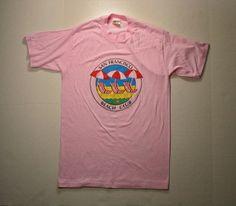 #80s San Francisco #TShirt Beach Club #pink #vintage #california by…