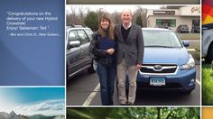 Dear Bev and Chris Doyle   A heartfelt thank you for the purchase of your new Subaru from all of us at Premier Subaru.   We're proud to have you as part of the Subaru Family.