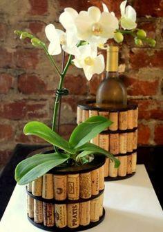 16 ideias para reaproveitar rolhas na decoração | MdeMulher