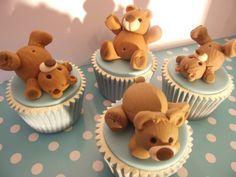Cute cub cupcakes