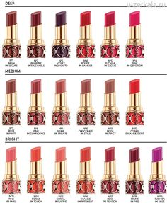 Весна от YSL: Beauty Rouge Volupte Shine Collection, Spring 2013