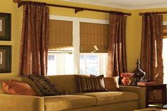 Window Décor for Creative Upselling - Roman Shades Canada - http://www.zebrablinds.ca/blog/window-decor-for-creative-upselling-roman-shades-canada/ #RomanBlinds, #BlackoutShades, #RomanShades, #RomanBlackoutBlinds, #BlindsCanada