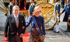 It was a royal day out for Queen Maxima and King Willem-Alexander of the Netherlands. The King and Queen were arm-in-arm as they arrived to the Hall of Knights for Prinsjesdag – the state opening of parliament, which is traditionally held on the third Tuesday in September.