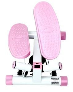 Sunny Health & Fitness Pink Adjustable Twist Stepper Review - Best Elliptical Machines Reviews