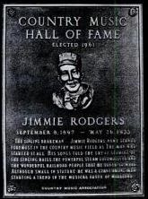 Jimmie Rodgers - Inducted in 1961