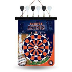 Houston Astros MLB Magnetic Dart Board