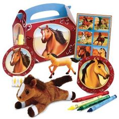 This is our Horses theme. All the decorations you see here come with our Silver, Gold and Platinum package. We do all the set up and clean up- just come in and enjoy! Details here: http://maplewoodfarm.bc.ca/birthday/