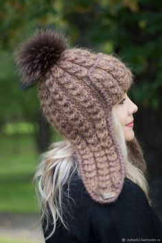 Winter Outfits Women, Knit Fashion, Crochet Yarn, Hair Band, Baby Knitting, Mittens, Crochet Projects, Headbands, Knitted Hats