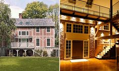 old barn converted into a home=awesome. John Hutchison Arthitect