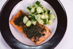 Tyler Gage's Candied Lemon Dill Salmon