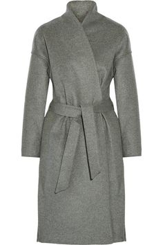 Totême's 'Chelsea' coat is an effortless, refined style. Crafted from wool-blend felt and brushed to a soft finish, this timeless piece has a streamlined silhouette with a built-in tie to cinch your waist. Wear yours from day to night with everything from tailoring to denim. Shop it now at NET-A-PORTER.COM  #Toteme