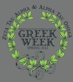 Greek Week Shirt Idea | Bows, Pearls & Sorority Girls