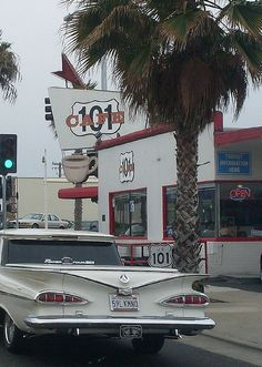 101 Cafe ,   Oceanside icon California via flickr (where my dad always stopped in his Navy days going back & forth to S.D.