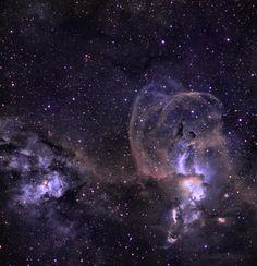 NGC3576 in Narrowband, alistairsam http://www.astrobin.com/full/143285/B/