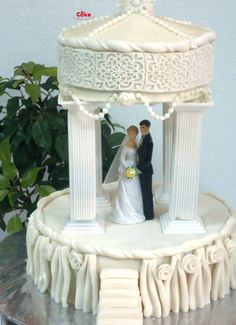 1000+ images about >Gâteaux: Mariage on Pinterest  Wedding cakes ...