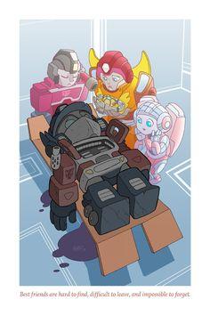 ilustracion optimus prime por Tony Fleecs
