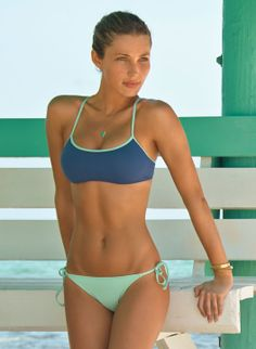 I like the sporty top. Click for link to see photos of criss-cross straps in back.
