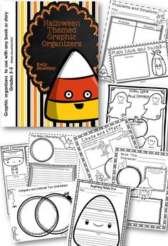 Brand new!  Halloween Graphic Organizers!  Perfect for almost any Halloween book or story.  $