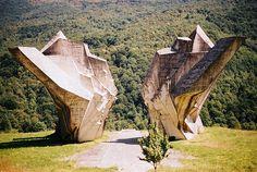 Sutjeska Partisan Memorial, via Flickr.