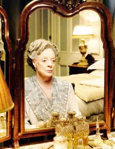 Maggie Smith as Violet Crawley - Downton Abbey, season 6 ..