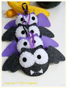 these are too cute! baby bat mobile seriously cute and unspooky halloween decorations or gothic gift for an addams family baby