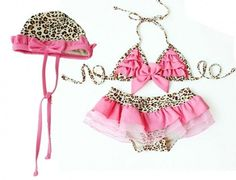 Pink Leopard Bikini Swimsuit Set #accessories #boutique-outfits #new #perfect-sets #spring-line