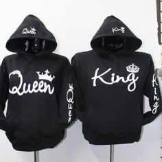 Kings and Queens hoodies you can BUY HERE! express your love whether in a season or not.Upgrade