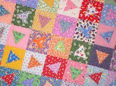 Fun quilt pattern.