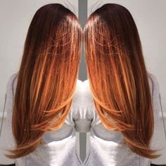 long+copper+ombre