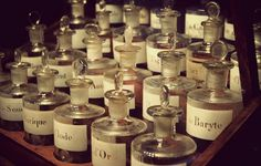 Vintage Perfume Bottles ~ Fragonard's Museum of Perfume ~ Paris