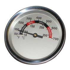 Heavy Duty BBQ Parts 00012 Heat Indicator for Gas Grills