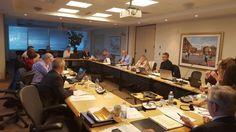 Last meeting of the Board of Directors before our AGM. Going late. / Dernière réunion des Directeurs avant l'AGA. #PIPSC2015