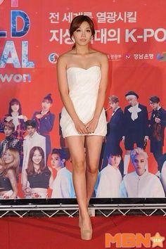Eunji <3 141019 K-POP World Festival in Changwan