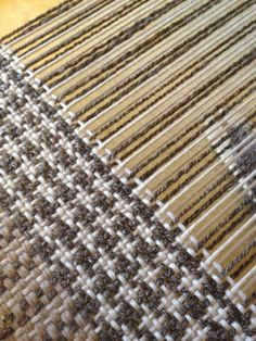 Weaving with Handspun