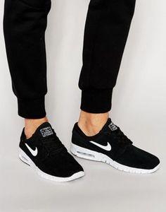 Nike SB Janoski Max Trainers In Black 685299-002