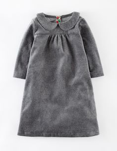 Cosy Velour Dress 33328 Day Dresses at Boden