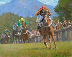- by Richard Christian Nelson. This is the new Tryon Riding And Hunt Club Poster! Limited edition canvas reproductions available through Skyuka Gallery and 352 Depot St. Fine Art Studio in River Arts District. Forms Of Poetry, Club Poster, Watercolor Horse, Painting Competition, Thoroughbred Horse, Artwork Images, Online Painting, Fine Art Gallery, New Art
