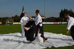 Aikidovorführung (Embu) in Stroheim bei Eferding September 2014 - Saningake