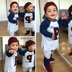 OMG lil ladies man already 😍 👑⭐👑⭐👑⭐ #followme #likes #likes4likes #photooftheday #bckcutie #FashionKids #kidsofinsta #babiesofinsta #Fashion #growingupgerber #babyigmodels #curlyhair #beautifulbabies #spamm #instagrammers #instatoddler #toddlerfashion #igkiddies #toddleroot #instagram #minilicious #fashionbaby #miniroyalz #fashionbaw